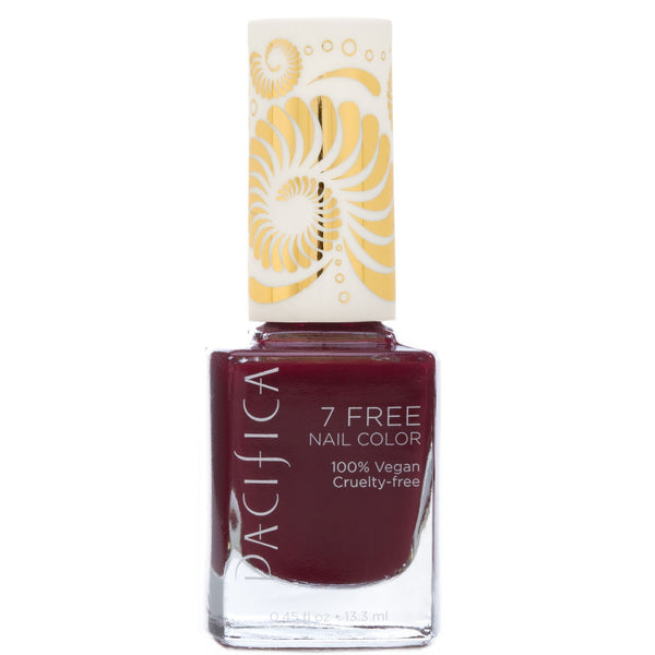 Pacifica 7 Free Nail Polish - Red Red Wine 13.3ml