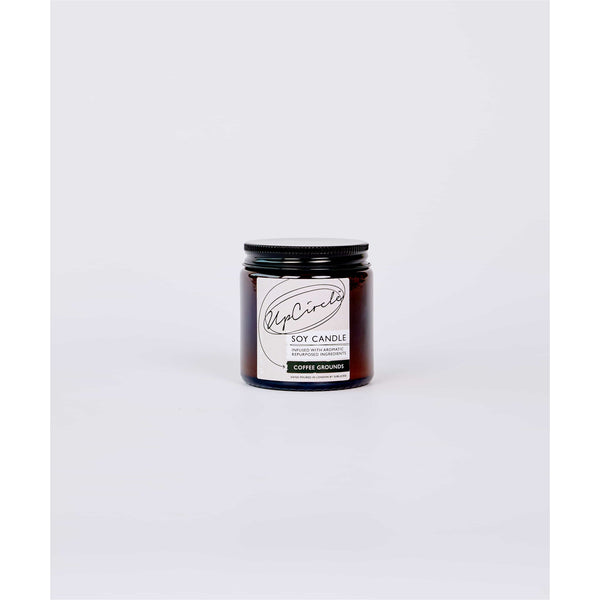 UpCircle COFFEE GROUNDS SOY CANDLE 120ML