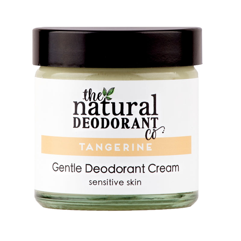 Natural Deodorant Co Gentle Deodorant Cream Tangerine - 55g