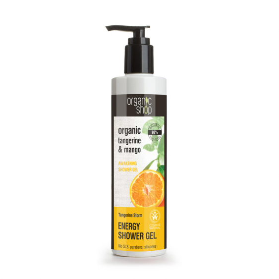 Organic Shop Tangerine Storm Energy Shower Gel - 250ml