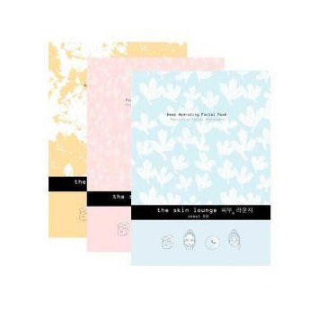 The Skin Lounge Sheet Mask Trio Seoul Collection