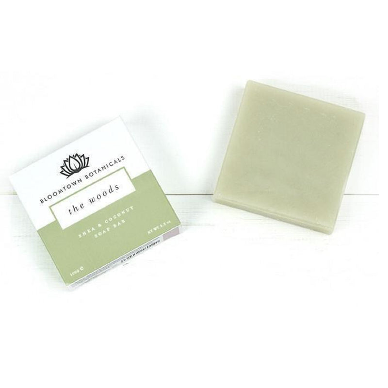 Bloomtown Botanicals Nourishing Soap Bar: The Woods 100g