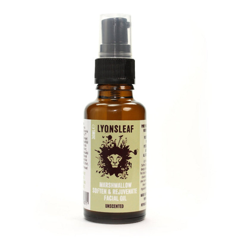 Lyonsleaf Marshmallow Soften and Rejuvenate Facial Oil-Unscented