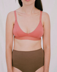 Organic Cotton High Waisted Briefs