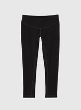 The Bamboo Half Moon Athletic Yoga Crops