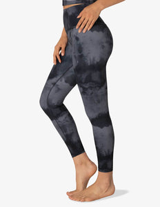 Lux Gray Smoke High Waisted Midi Legging | Beyond Yoga