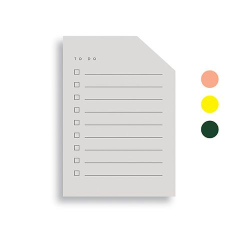 Jotter Color block Pad Small