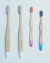 Bamboo Toothbrush- white, soft bristles