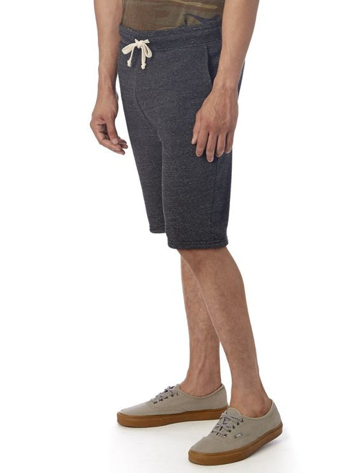 Eco Fleece Gym Short - Dark Grey