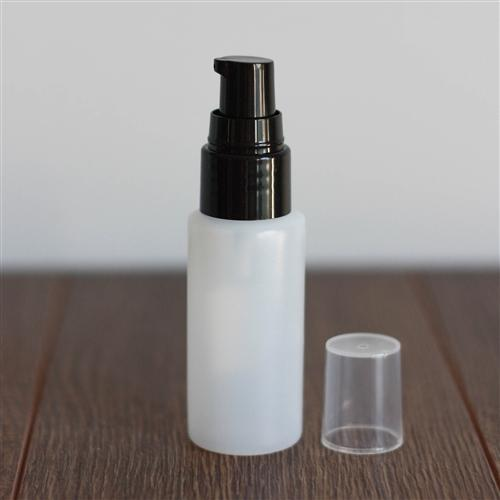 *30 ml Natural Cylinder with Treatment Pump - Black