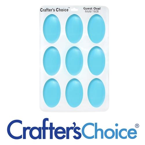 Guest Oval Silicone Soap Mold