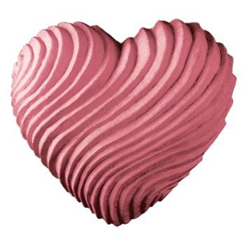 Swirled Heart Milky Way Soap Mold