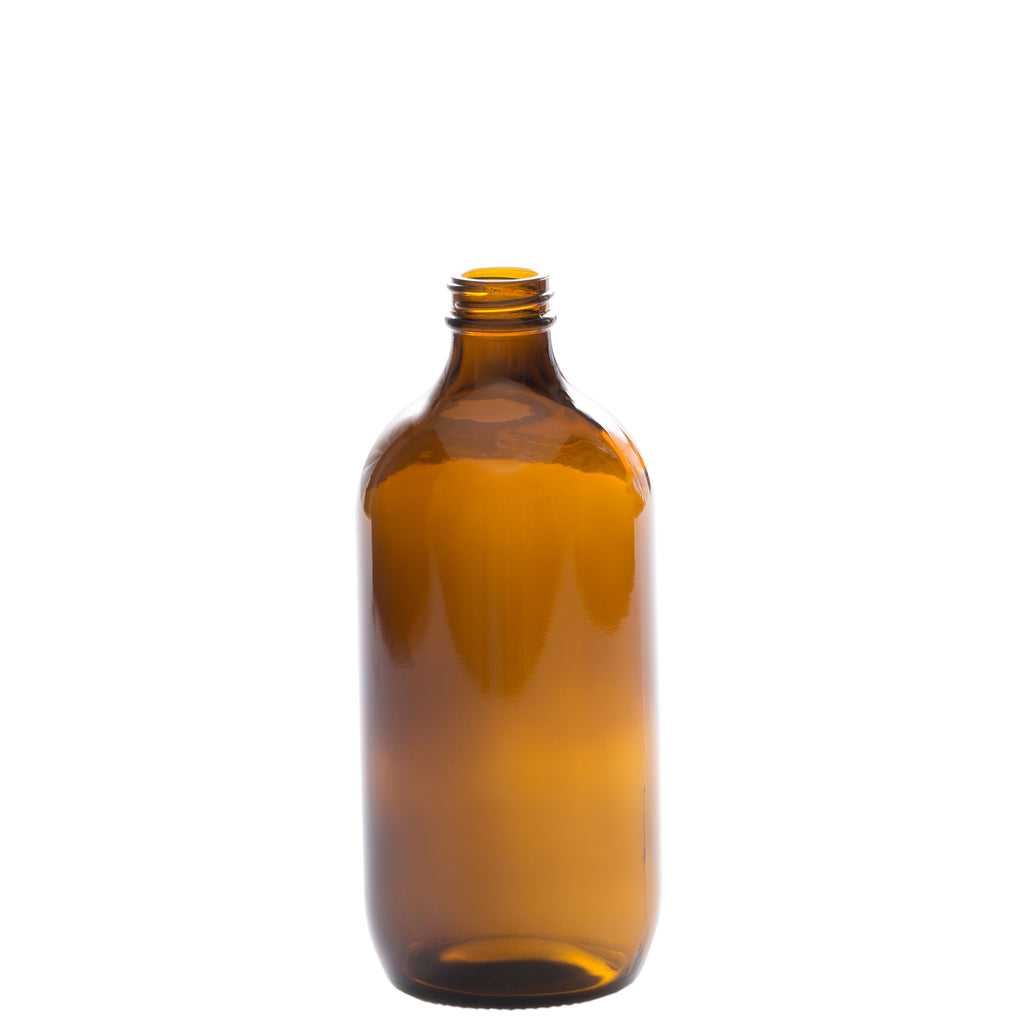 500 ml Amber Glass Bottle with 28-400 Neck