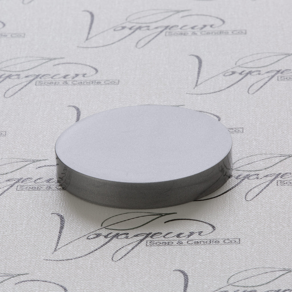70-400 Silver Flat Gloss Smooth Cap