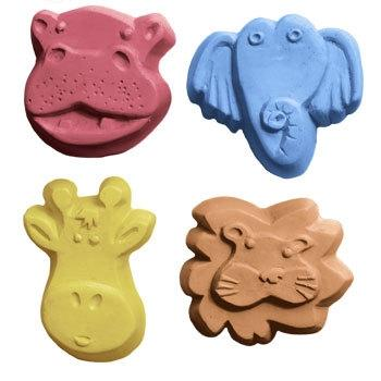 Kids Critters 4 Milky Way Soap Mold