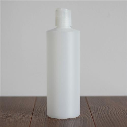 500 ml Natural HDPE Cylinder with Disc Cap - Natural