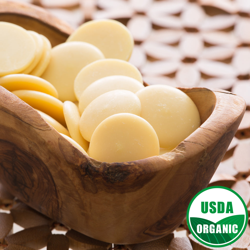 Cocoa Butter ORGANIC Wafers