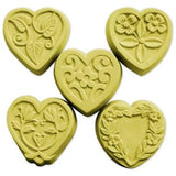 Guest 5 Hearts Milky Way Soap Mold