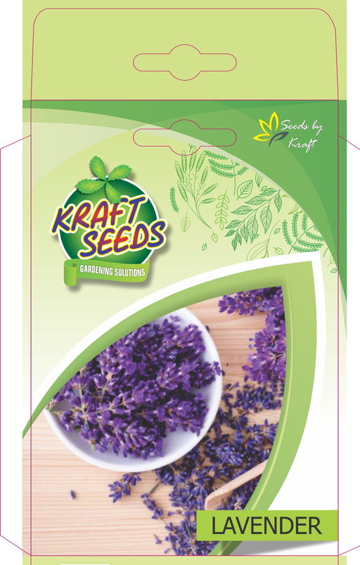 Lavender  Herbs Seeds With Agropeat 100gm KS Exclusive Packs