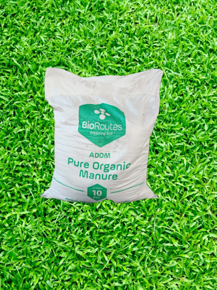Pure Organic Manure ADOM Anaerobically digested Biomass and Culture (micro-organisms) 10kg Bag