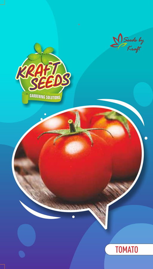 TOMATO Improved Indian Vegetable Small pack For home & kitchen Garden