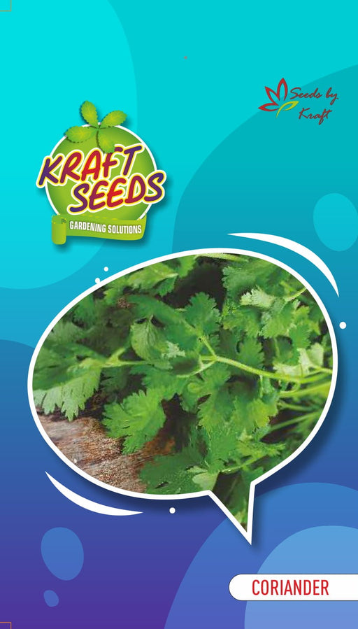 CORIANDER Vegetable Seeds With Agropeat 100gm KS Exclusive Packs