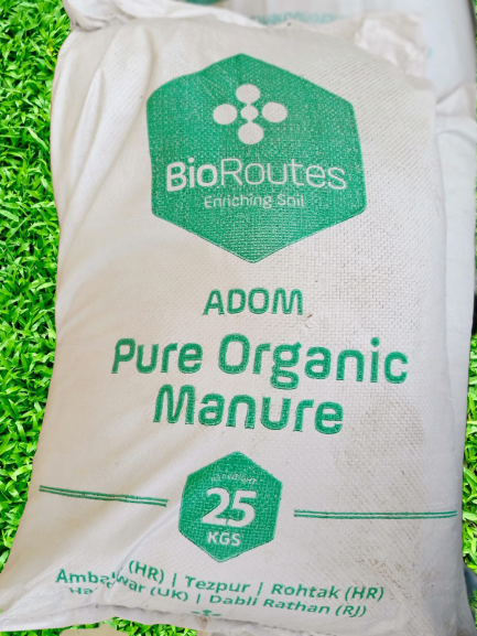 Pure Organic Manure ADOM Anaerobically digested Biomass and Culture (micro-organisms) 25kg Bag