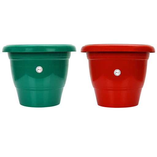 14-inch Gamla/Pot/Pots Planter. Great for garden lovers Different colours ( 2 Pots)