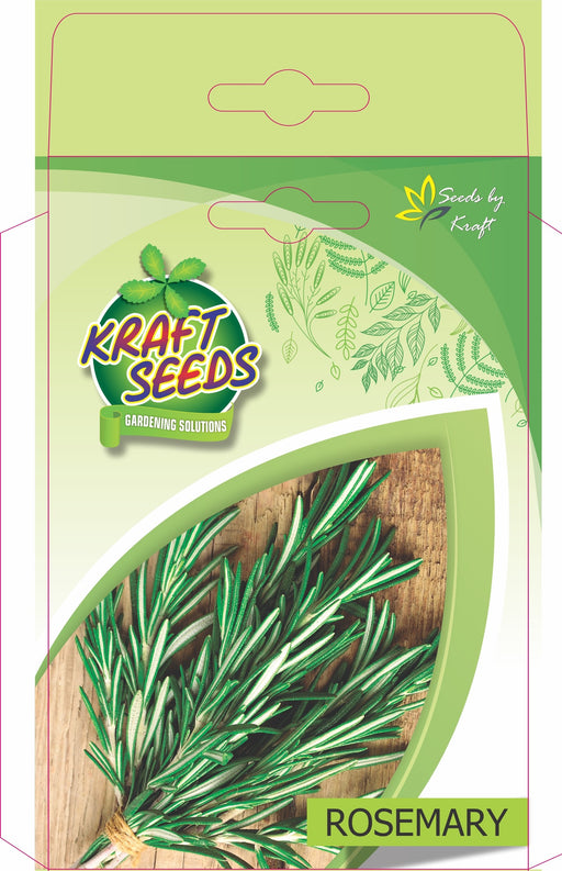 Rosemary Herb Seeds - Organically Grown NON-GMO