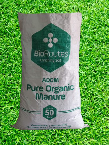 Pure Organic Manure ADOM Anaerobically digested Biomass and Culture (micro-organisms) 50kg Bag