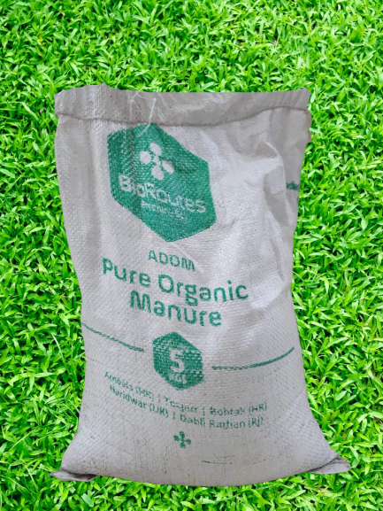 Pure Organic Manure ADOM Anaerobically digested Biomass and Culture (micro-organisms) 5kg Bag