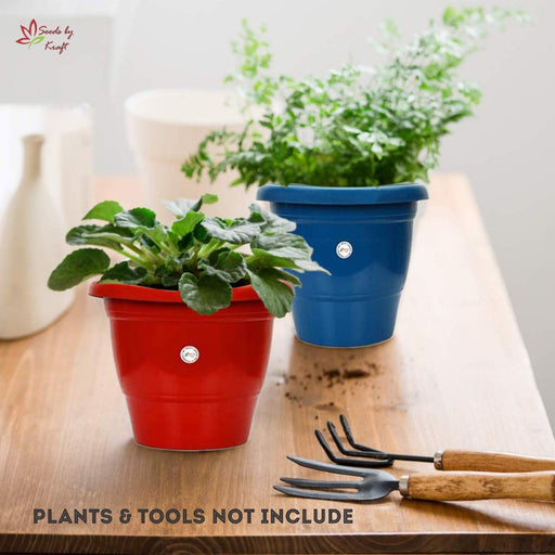 10-inch Fresh Gamla/Pot/Pots Planter. Great for garden lovers Different colours ( 2 Pots )