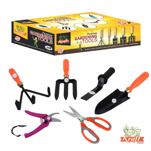 Kraft Seeds 6 in 1 Garden Tool Kit