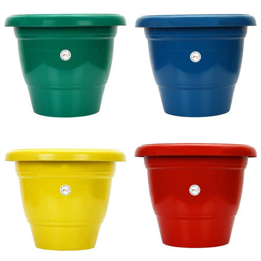 12-inch Gamla/Pot/Pots Planter. Great for garden lovers Different colours ( 4 Pots)