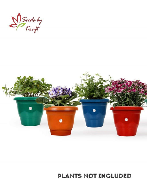10-inch Fresh Gamla/Pot/Pots Planter. Great for garden lovers Different colours ( 4 pots)