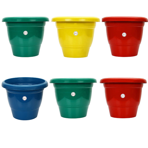 14-inch Gamla/Pot/Pots Planter. Great for garden lovers Different colours ( 6 Pots)