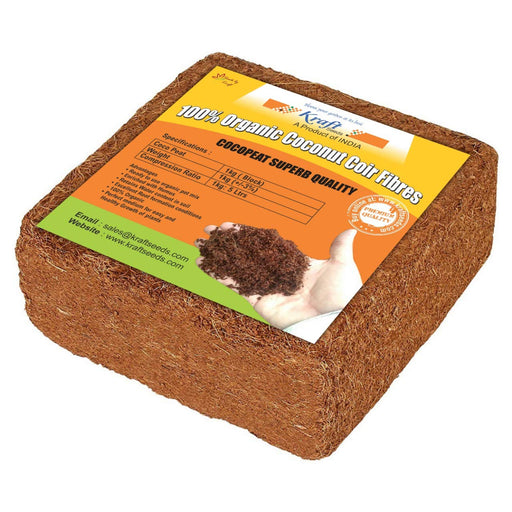 Cocopeat / Agropeat Use for Fast Germination 1 kg ( 1 Pc )