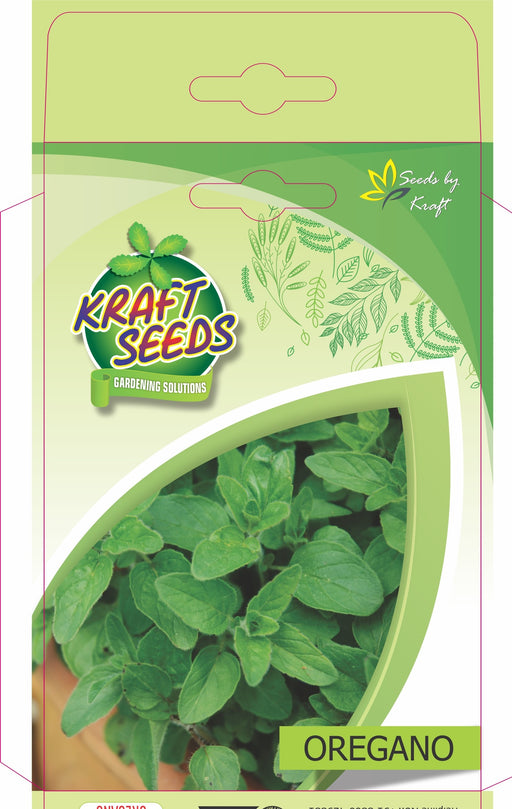 Oregano Herb Seeds NON-GMO Seeds Pack for Home and Balcony Gardening