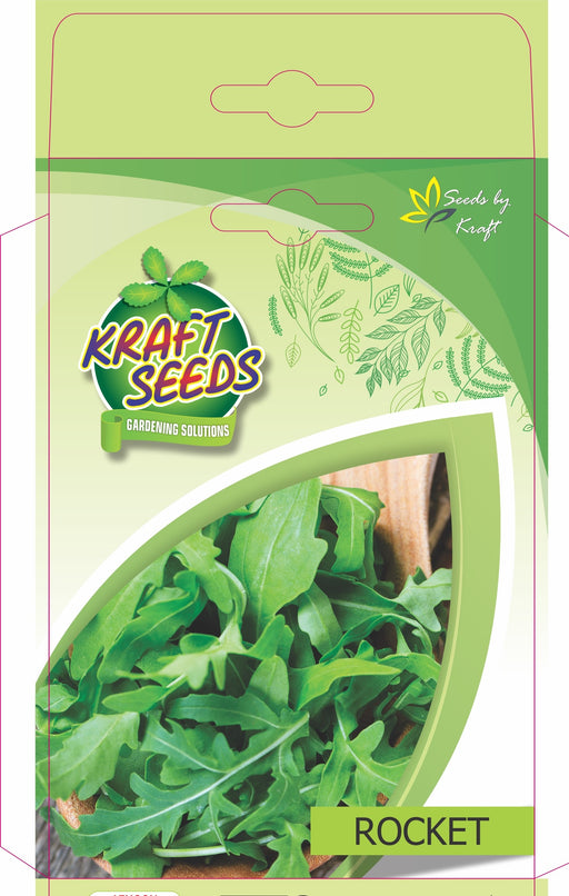 Rocket Herb Seeds NON-GMO Seeds Pack for Home and Balcony Gardening