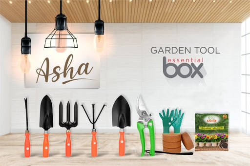 'ASHA'Kraft Seeds Garden Tool Essential Box