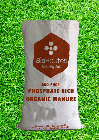 Phosphate Enriched Organic Manure ADO-PHOS Anaerobically digested Biomass, Rock Phosphate and Culture (micro- organisms) 5kg Bag