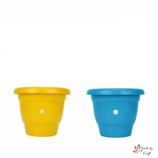 8-inch Fresh Gamla/Pot/Pots Planter. Great for garden lovers Different colours ( 2 Pots)