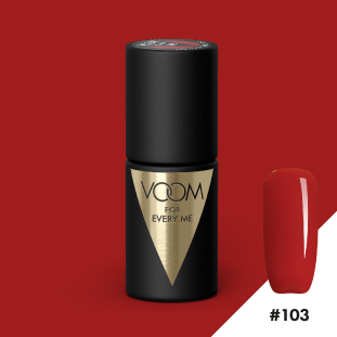 VOOM Soak Off Gel Polish #103 - All You Need is Red (.17 fl. oz. | 5 ml)