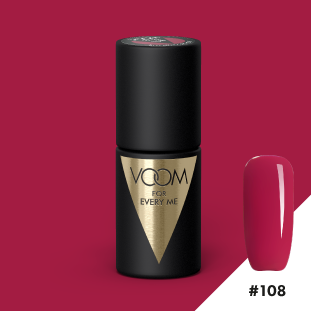 VOOM Soak Off Gel Polish #108 - Red Hot Chillout (.17 fl. oz. | 5 ml)