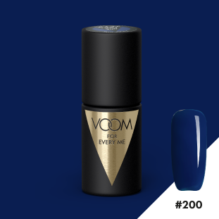 VOOM Soak Off Gel Polish #200 - Blue Velvet (.17 fl. oz. | 5 ml)