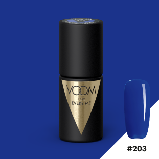 VOOM Soak Off Gel Polish #203 - A Piece Of Blue Sky (.17 fl. oz. | 5 ml)