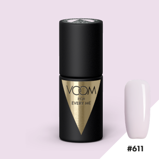 VOOM Soak Off Gel Polish #611 - Teeny-Weeny French Cookie (.17 fl. oz. | 5 ml)