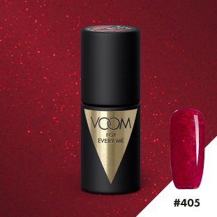 VOOM Soak Off Gel Polish #405 - Electric Red (.17 fl. oz. | 5 ml)