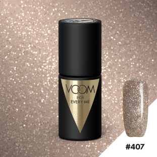 VOOM Soak Off Gel Polish #407 - London Golden Eye (.17 fl. oz. | 5 ml)