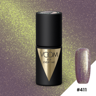 VOOM Soak Off Gel Polish #411 - Prosecco Shimmer (.17 fl. oz. | 5 ml)